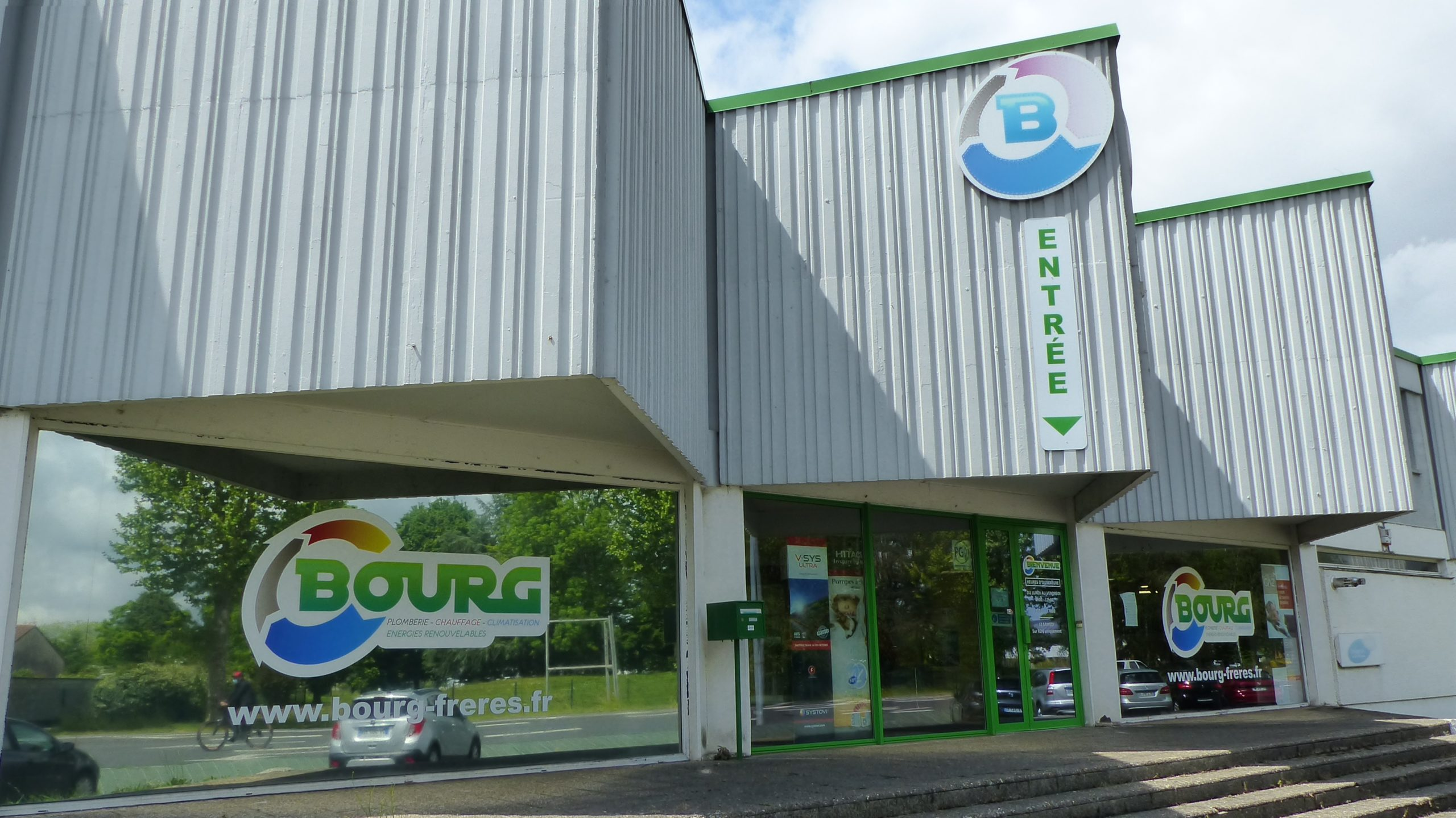 bourg freres plomberie sanitaire chauffage climatisation energie renouvelable pau pyrenees
